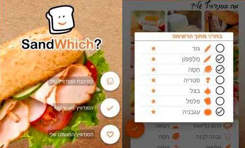 האפליקציה שתגיד להורים איזה כריך להכין לילד