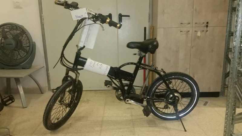 נעלמו/נגנבו לכם אופניים חשמליות? אולי אחד מהם הוא שלכם
