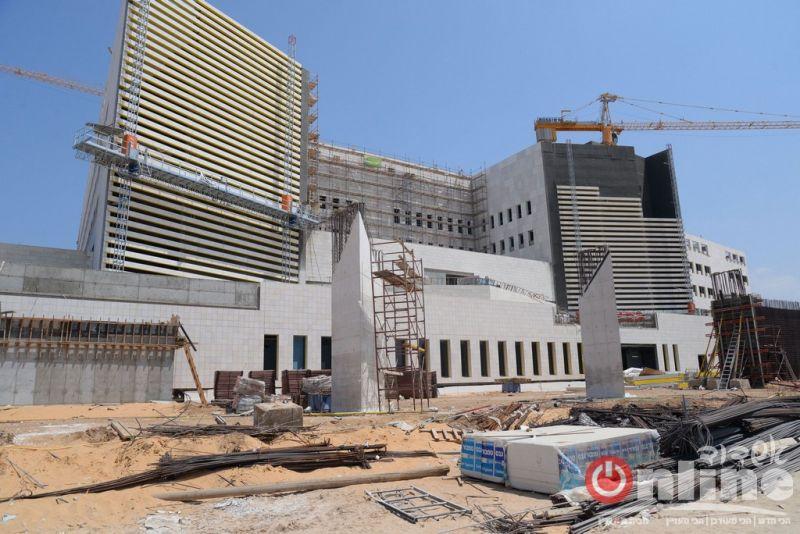 עוד 439 יום לפתיחת בית החולים החדש - בקרוב יחלו בגיוס עובדים