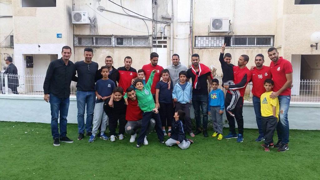 יום המעשים הטובים של שחקני מ.ס אשדוד