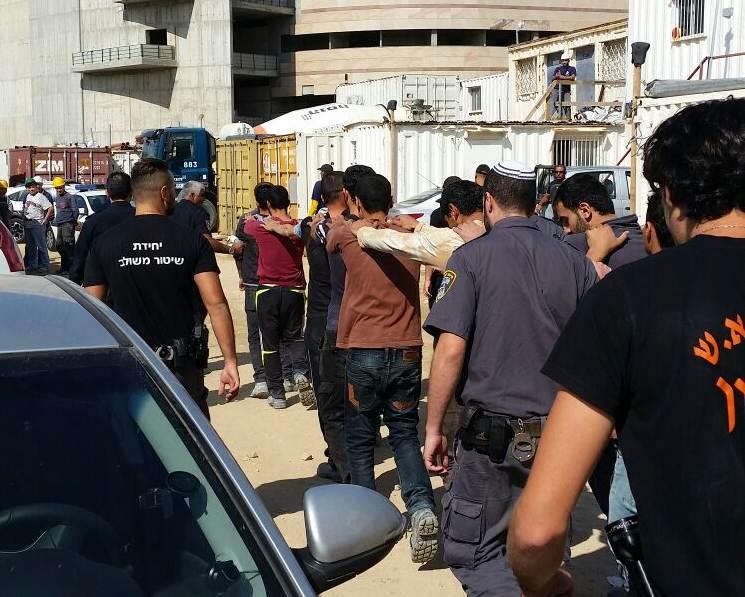 """המשטרה הרחיקה ועצרה עשרות שב""""חים"""