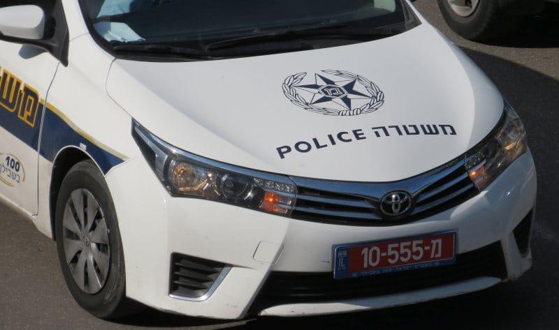 חלק קדמי של ניידת משטרה