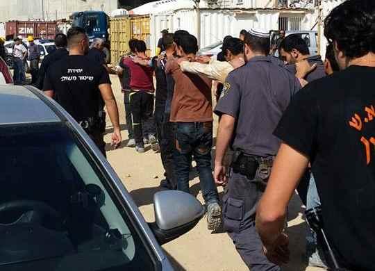 """בעקבות שיחה בין ד""""ר לסרי למפקד תחנת אשדוד: המשטרה הרחיקה ועצרה 30 שב""""חים"""