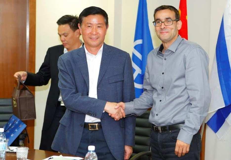 משלחת רשמית מהעיר מבסין ביקרה באשדוד
