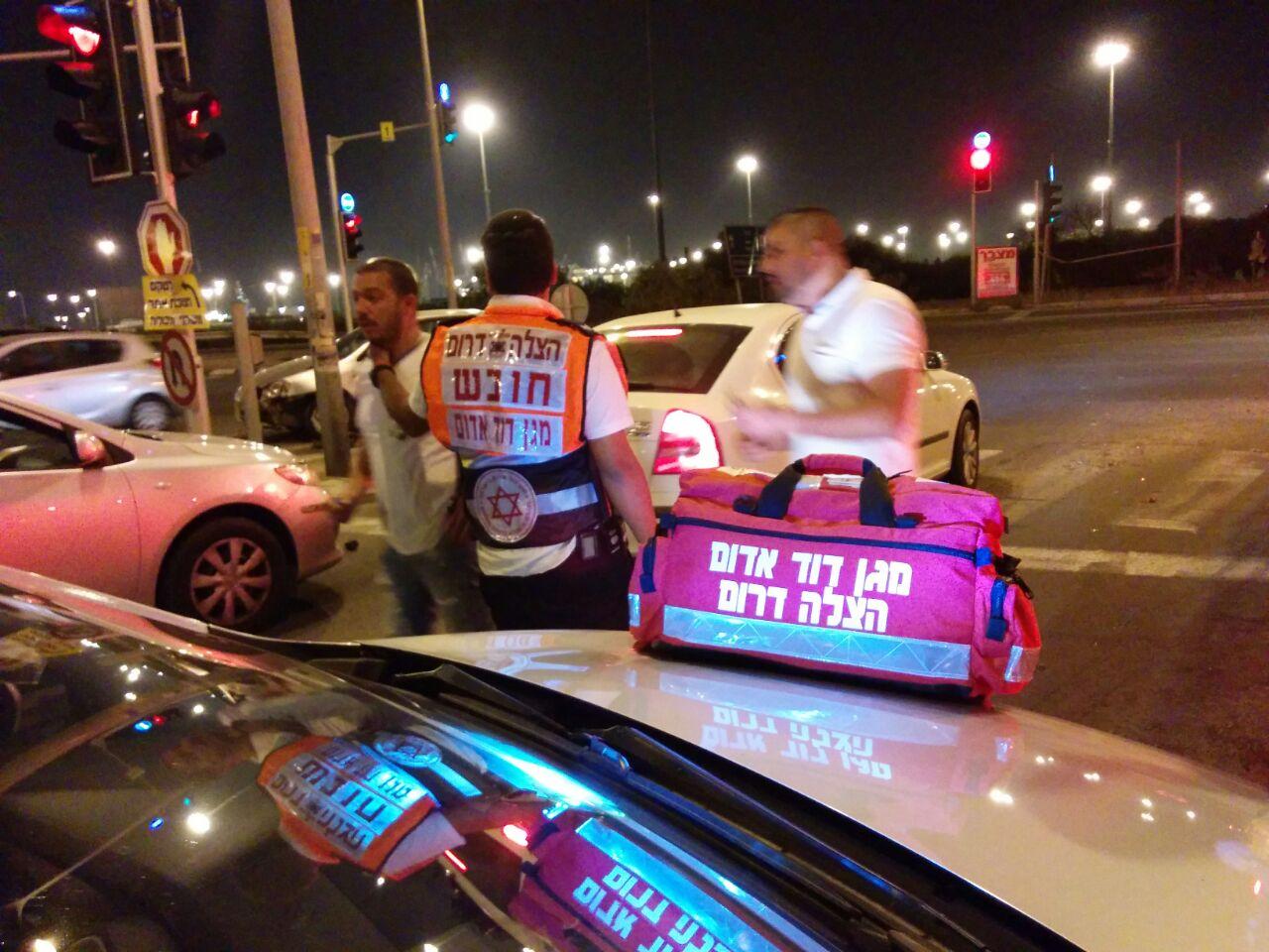 מגפה של ממש: פצוע בינוני בתאונת דרכים באשדוד
