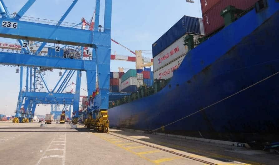 עובד התמוטט בנמל אשדוד ופונה במצב קשה לאסותא