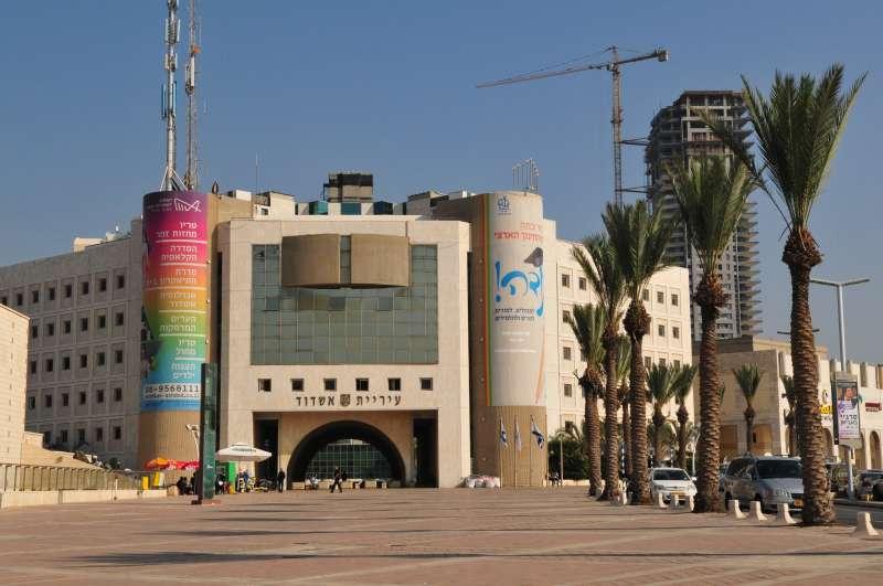 חוקרי להב 433 החרימו מסמכים בעיריית אשדוד