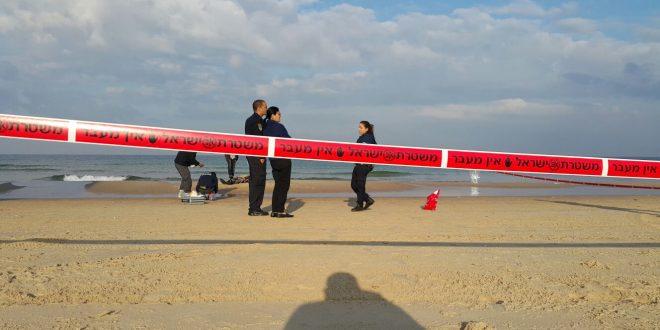 משטרה בחוף הים