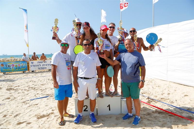 אליפות הארצית למטקות - מאות צופים נלהבים בחוף הקשתות אשדוד