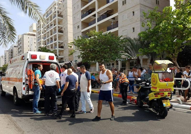 נערה בת 16 נפצעה בראשה בתאונת דרכים ברחוב תל חי