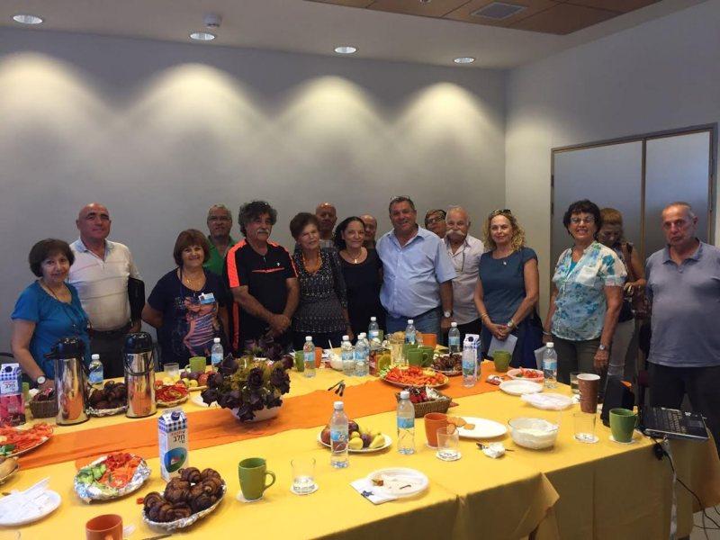 מכללת גבעת ושינגטון ארחה את המועצה לישראל יפה
