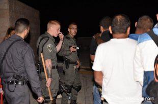 """משטרת ישראל ולוחמי מג""""ב עצרו 22 שוהים בלתי חוקיים באשדוד"""