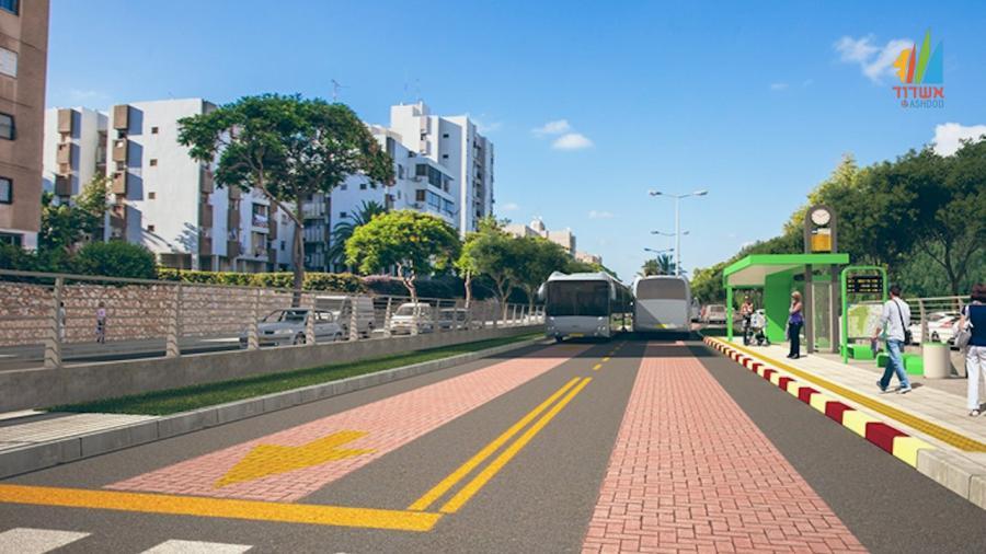 אשדוד מתחילה את מהפיכת התחבורה הציבורית הירוקה