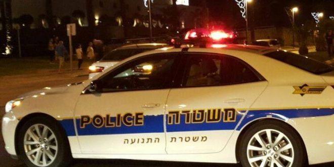 משטרת תנועה בלילה