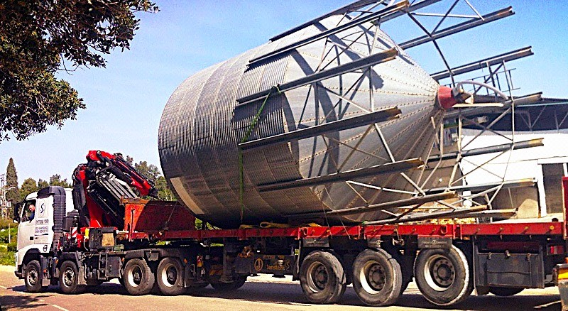 זהירות: מטען חורג יעבור השבוע בכבישי אשדוד שחלקם ייחסמו לתנועה