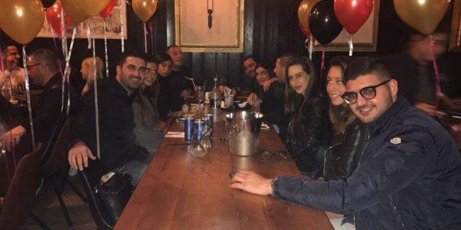 אביאל כהן חגג יום הולדת במסעדת נורדאו 24