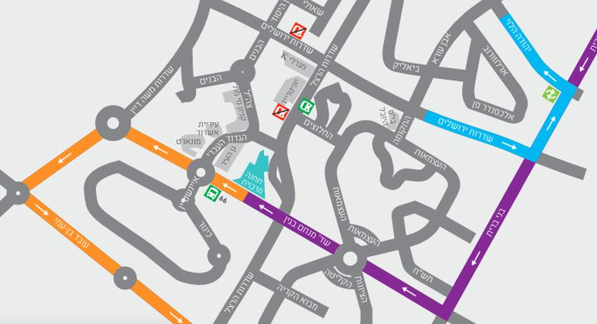 החל מיום ראשון: שינויים בקווי התחבורה הציבורית העירוניים והבין עירוניים