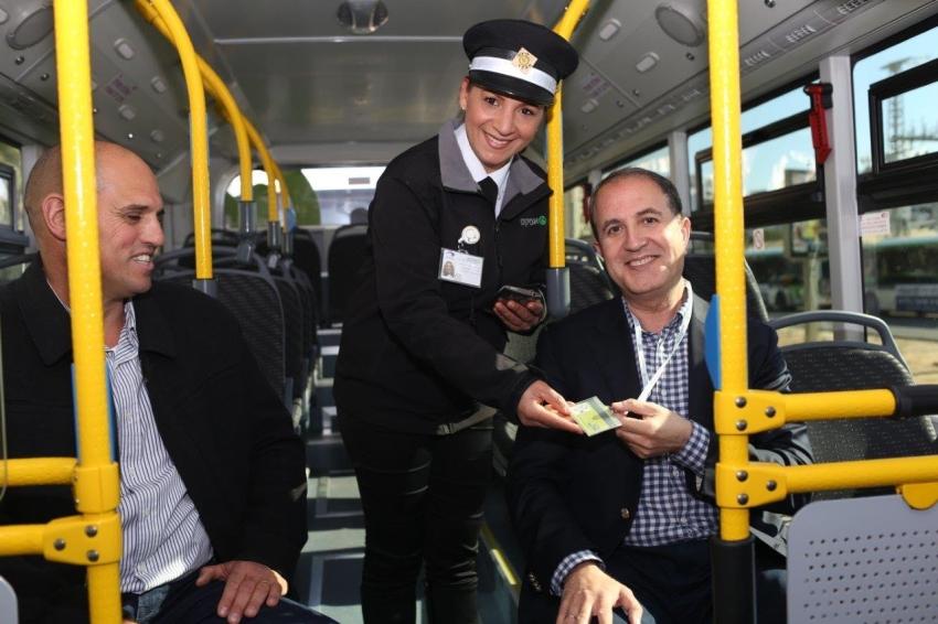 ראש העיר חנך את מערך האוטובוסים החדש