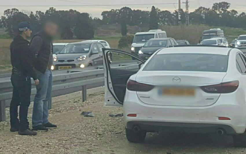 דרמה בכביש אשדוד - אשקלון: שוטרים עצרו רכב ומצאו ברכבו קוקאין