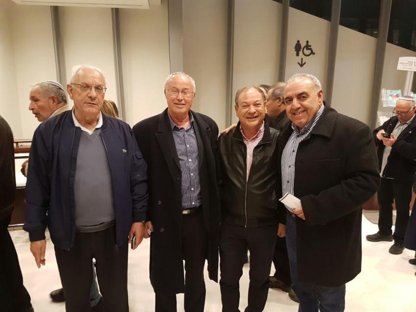 ראשי עיריית אשקלון לשעבר נפגשו במשכן