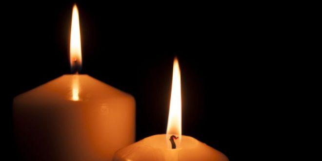 נרות נשמה דולקים