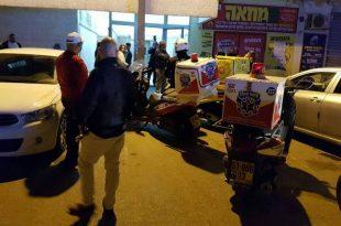 אירוע דקירות ברוגוזין: פצוע במקום