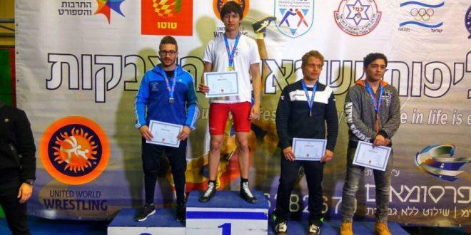 10 מדליות להפועל אשדוד באליפות ישראל לילדים ולנוער בהיאבקות