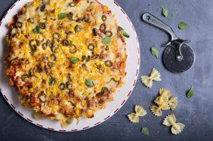 מתכון: פסטה פיצה