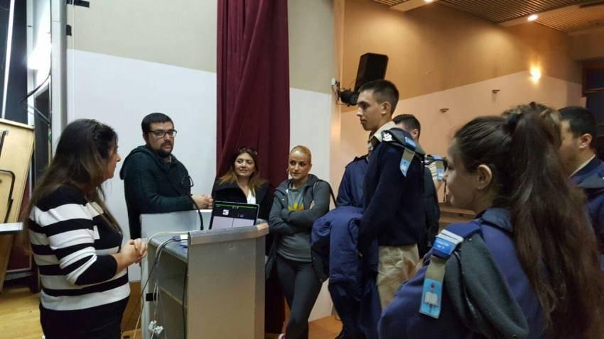 תלמידי מקיף א' ערכו סיור במכון ויצמן