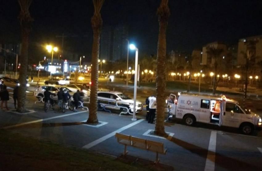 במהלך הלילה: גבר נפל מקומה 5 ונפצע קשה מאוד