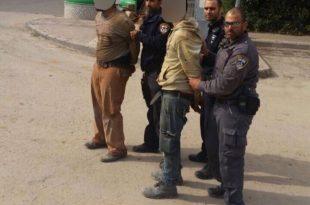 """לוחמי מג""""ב וצוות השיטור העירוני פשטו על אתרי הבניה ועצרו חמישה שבחי""""ם"""