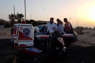 שני נערים טבעו בחוף הים באשדוד - כוחות ההצלה במקום