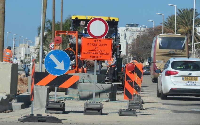 לידיעתכם: חסימת כבישים החל מהיום ובכל ערב עד סוף החודש במסגרת עבודות התחבורה