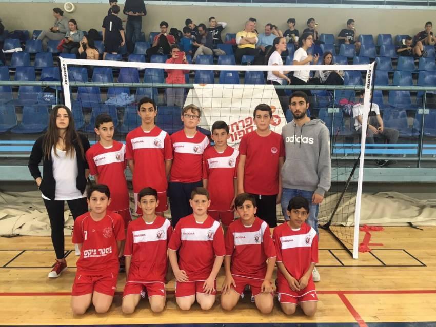 טורניר פרחי ספורט בהשתתפות בית הספר לכדוריד של הפועל אשדוד