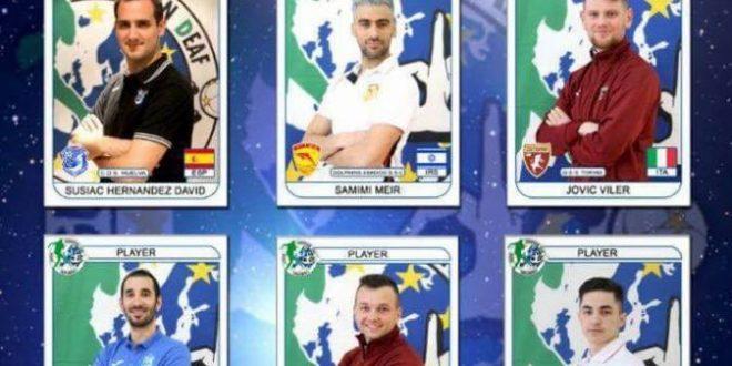 """3 משחקני """"דולפיני אשדוד"""" בנבחרת 12 הטובים באירופה"""