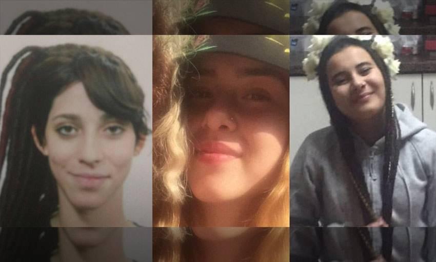 המשטרה מבקשת סיוע באיתור שלוש נעדרות קטינות