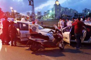 ארבעה פצועים בתאונת דרכים בין שני כלי רכב באשדוד