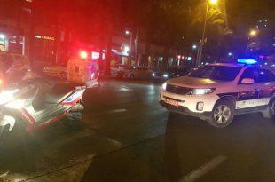 במהלך הלילה: אוטובוס פגע ברוכב אופנוע בשד' בני ברית ופצע אותו