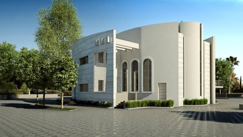 """הקבלן והיזם המוכר יחיאל אבו מקים בית כנסת ברובע י""""ז"""