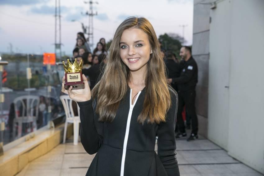 אנה זק האשדודית זכתה מקום הראשון בתחרות מיוזיקלי