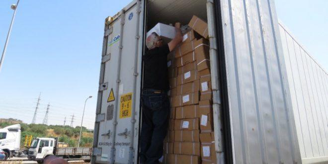 משאית עם 26 טון של בשר שאינו ראוי למאכל נתפסה באשדוד