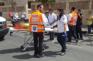 ילד נפגע מרכב חולף - מצבו בינוני