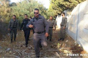 """המשטרה ומשמר הגבול בחיפוש אחר שב""""חים"""
