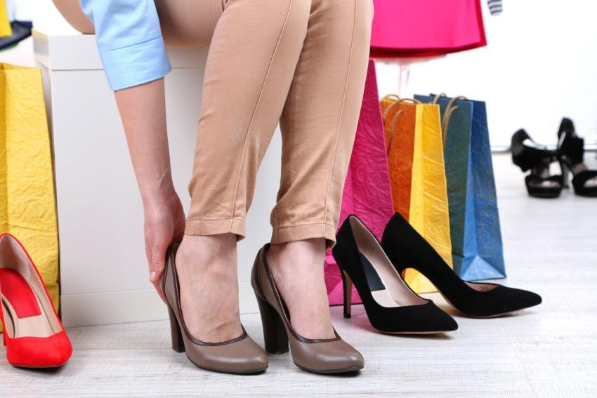 מדידת נעליים