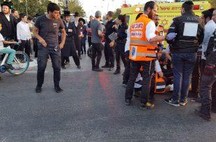 רכב פגע בחוזקה בילד בן 9 ופצע אותו