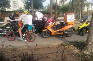 הולכת רגל צעירה נפגעה בתאונת דרכים ברובע הסיטי