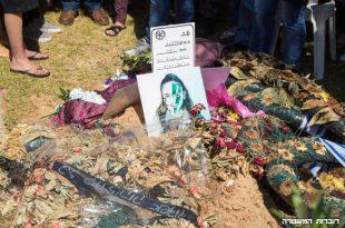 """משפחתה של הדס מלכא ז""""ל עלו לקברה"""