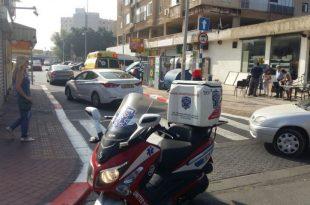תאונה נוספת באשדוד: רוכב אופנוע פצוע במקום