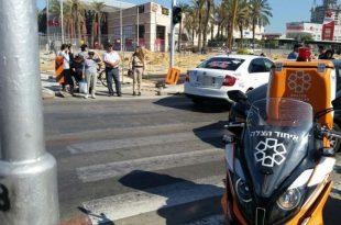תאונת דרכים קשה באשדוד - רכב פגע בחוזקה בהולכת רגל