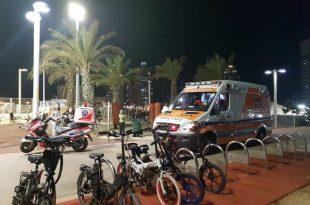 ילד נפצע לאחר נפילה בסקייט פארק באשדוד
